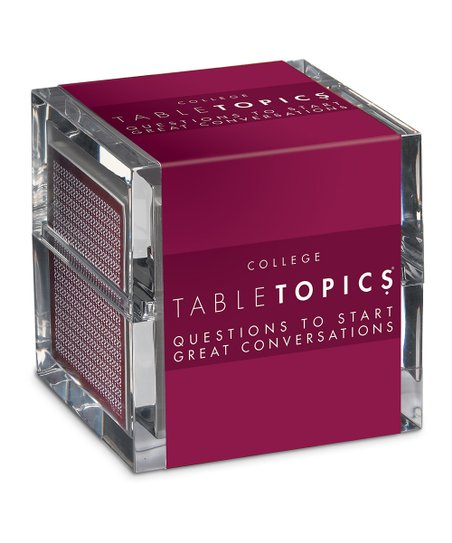 College Edition TableTopics Game