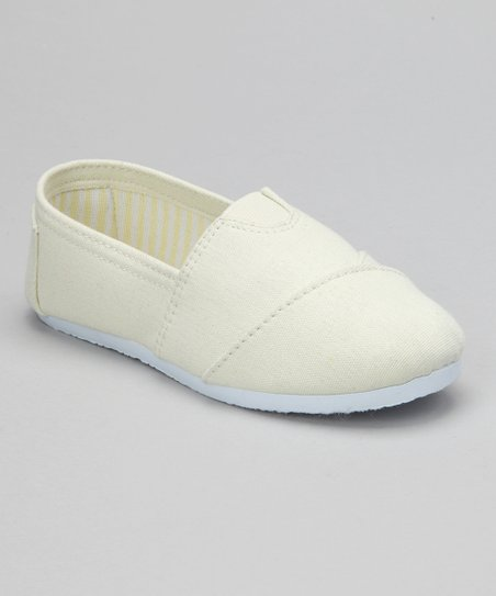 Beige Slip-On Shoe
