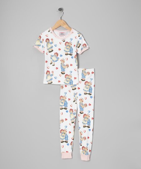 Pink Raggedy Ann Pajama Set - Infant, Toddler & Girls