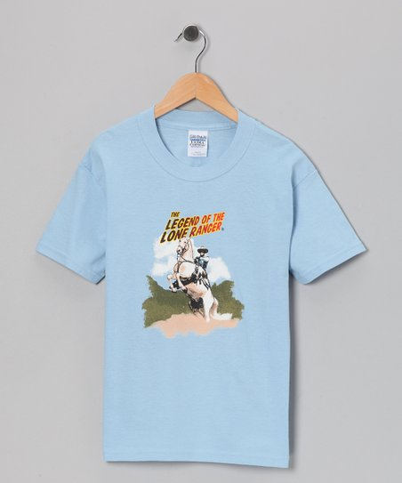 Blue 'Legend of the Lone Ranger' Tee - Toddler & Kids