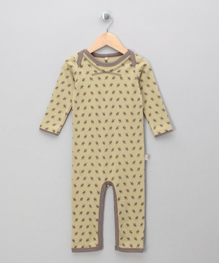 Army Elk Organic Playsuit - Infant & Toddler