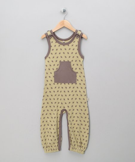 Army Elk Organic Overalls - Infant &amp; Toddler