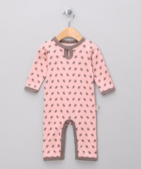 Rosa Elk Organic Playsuit - Infant & Toddler
