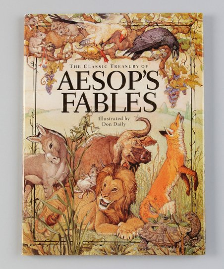 The Classic Treasury of Aesops Fables Hardcover