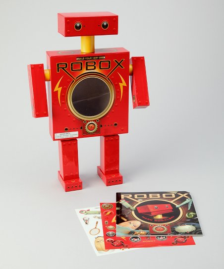 Robox Book & Model Set