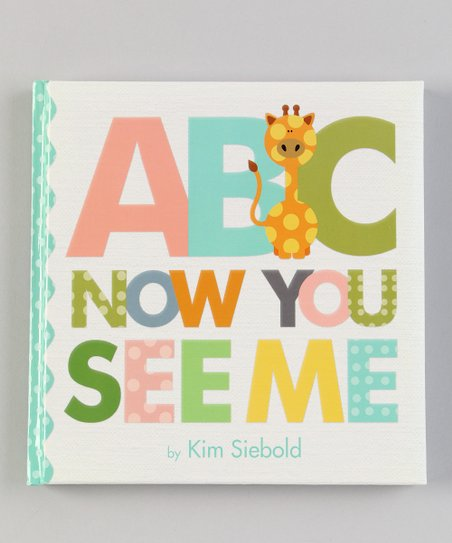 ABC Now You See Me Padded Hardcover