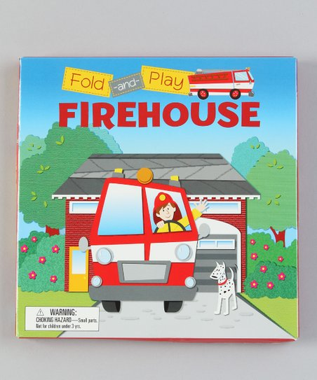 Fold and Play: Firehouse Paperback
