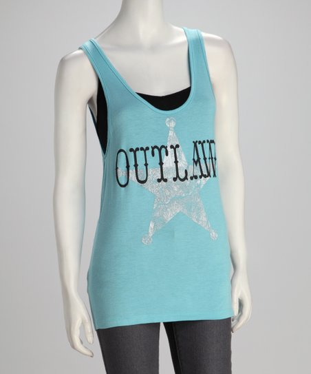 Southward Dusty Blue 'Outlaw' Tank