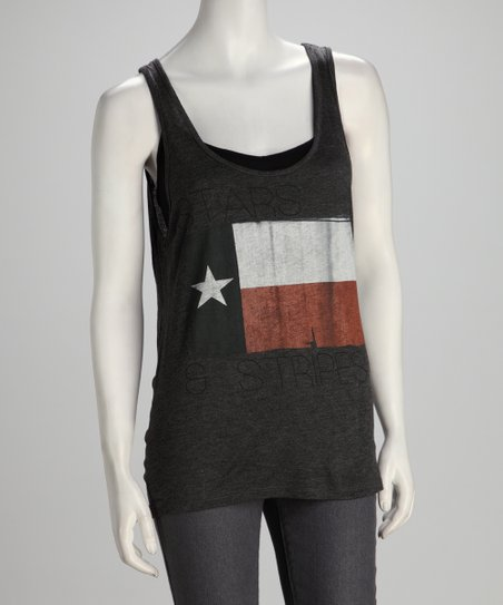Southward Charcoal Stars &amp; Stripes Tank