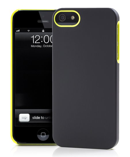 Yellow & Black UN Colors Deflector Case for iPhone 5