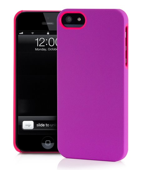 Pink & Violet UN Colors Deflector Case for iPhone 5