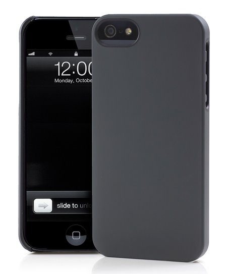 Gunmetal & Black UN Colors Deflector Case for iPhone 5