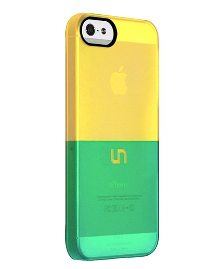 Gold & Teal Sorbet Case for iPhone 5