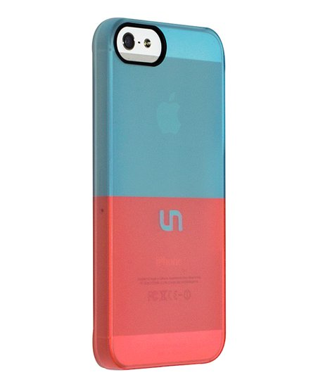 Robin Egg & Coral Sorbet Case for iPhone 5