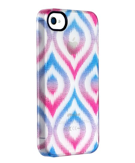 Gradient Ikat Permafrost UN Deflector Case for iPhone 4/4S