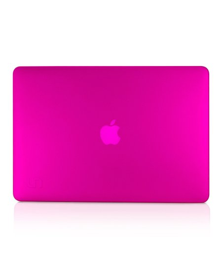 Frosted Pink Deflector Case for MacBook Pro