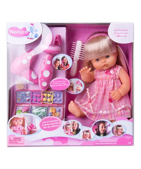 Nenuco Hairdressing Doll Set