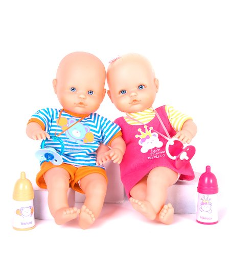 Nenuco My Little Twins Doll Set