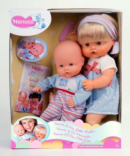 Nenuco & Her Little Brother Doll Set
