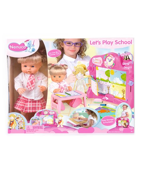 Nenuco School Time Doll Set