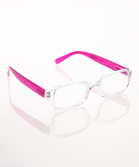 Crystal &amp; Pink E-Specs Computer Glasses