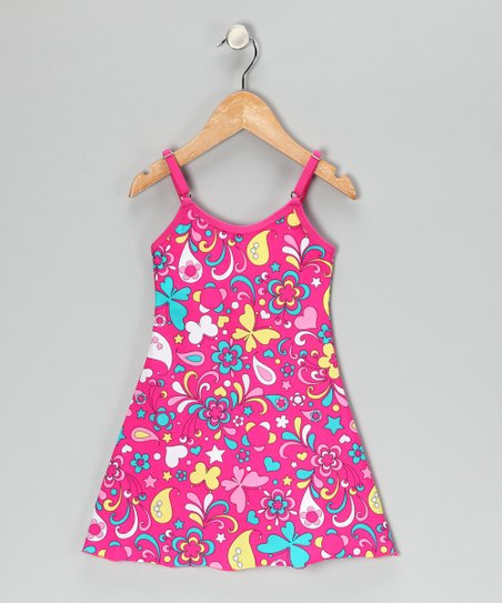 Makena Pink Carnival Dress - Toddler & Girls