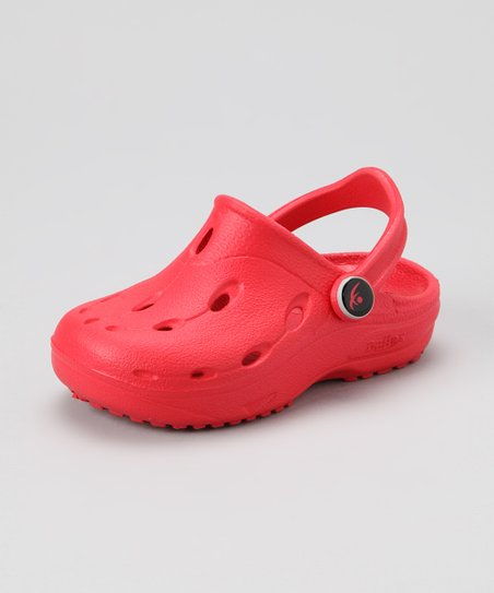 Red Dux Clog - Kids