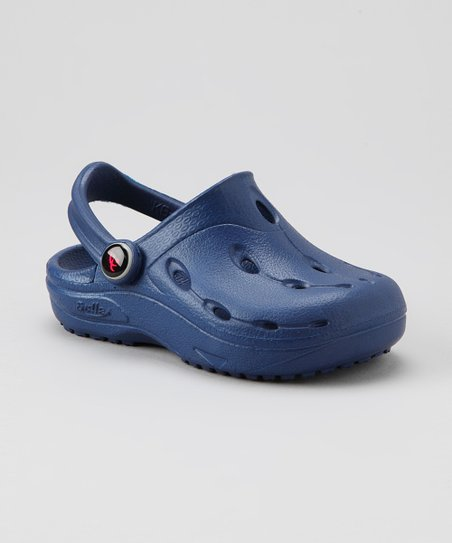 Navy Dux Clog - Kids