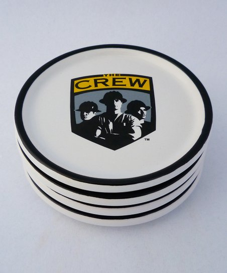 Agnik Design Columbus Crew Coaster - Set of Four