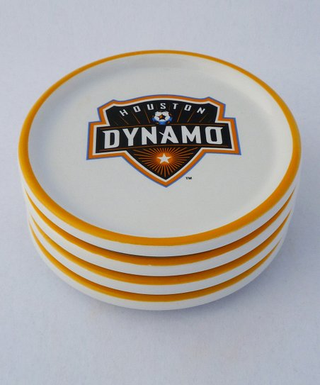 Agnik Design Houston Dynamo Coaster - Set of Four