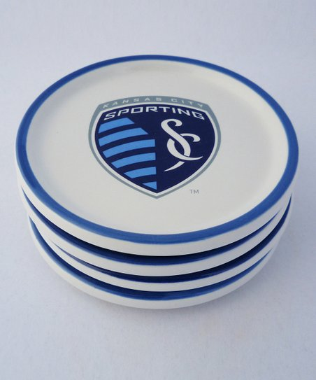 Agnik Design Sporting Kansas City Coaster - Set of Four