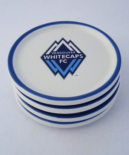 Agnik Design Vancouver Whitecaps Coaster - Set of Four