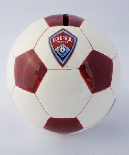 Agnik Design Colorado Rapids Soccer Money Bank