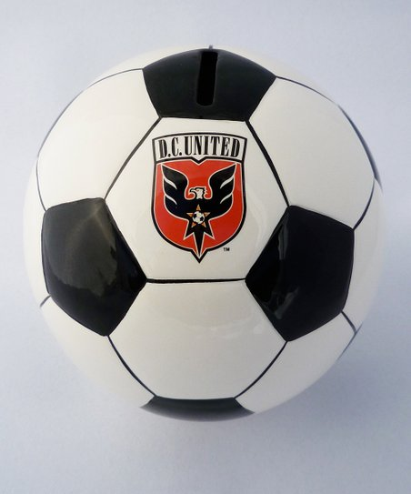 Agnik Design D.C. United Soccer Money Bank