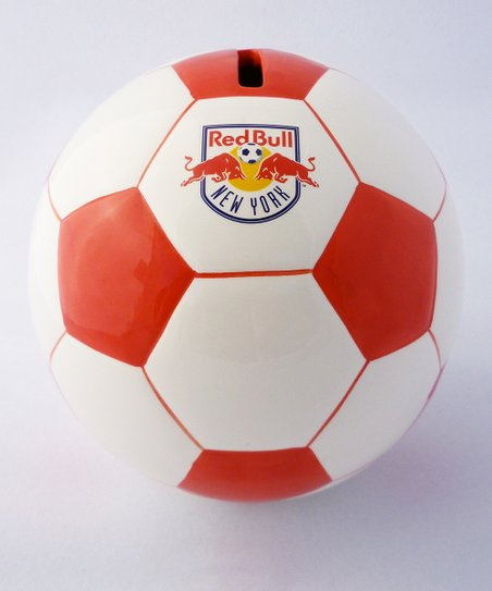 Agnik Design New York Red Bulls Soccer Money Bank