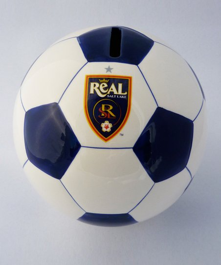 Agnik Design Real Salt Lake Soccer Money Bank