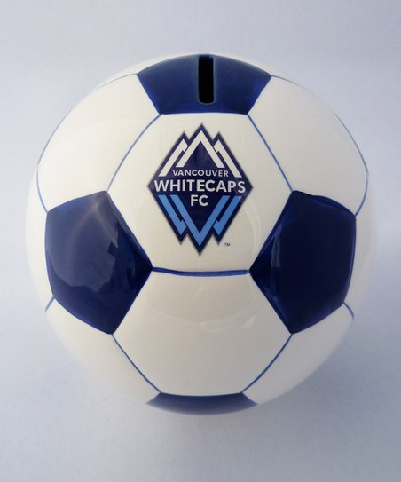 Agnik Design Vancouver White Caps Soccer Money Bank