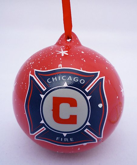 Agnik Design Chicago Fire Ornament