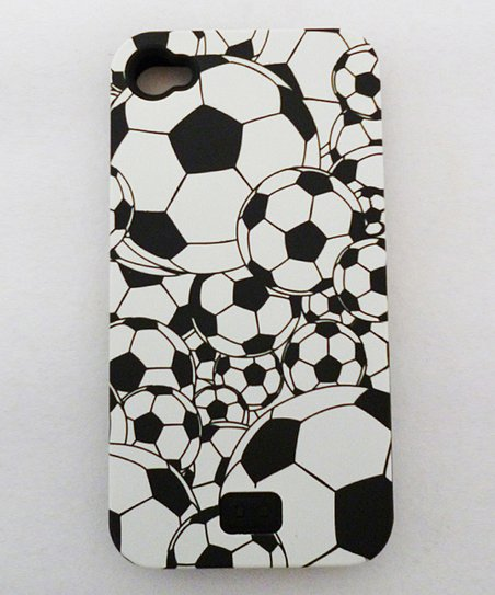 Agnik Design Overlapping Soccer Ball Case for iPhone 4/4S