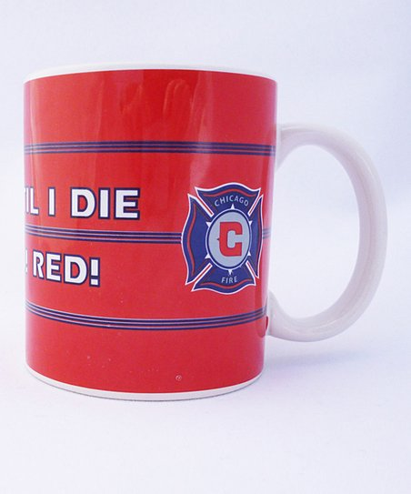 Chicago Fire Scarf Mug - Set of Two