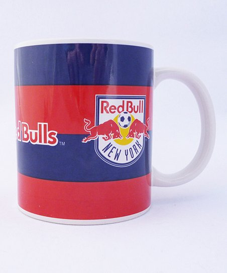 New York Red Bulls Scarf Mug - Set of Two