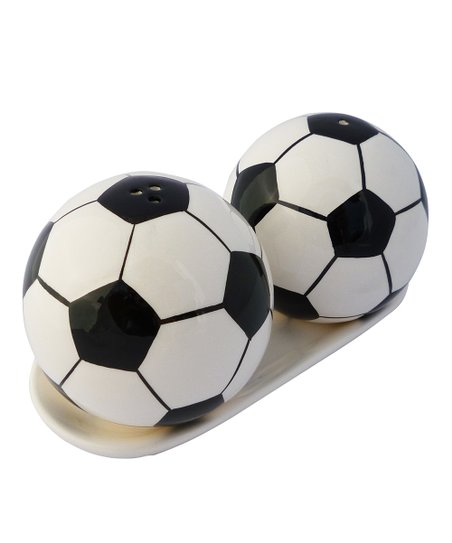 Agnik Design Soccer Salt & Pepper Shaker Set