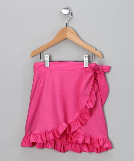 Fuchsia Swim Skirt – Girls