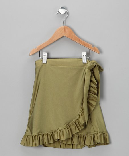 Green Swim Skirt