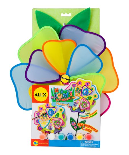Paint a Pinwheel Flower Set