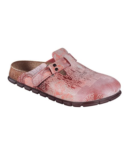 Rose Letter Mix Clog