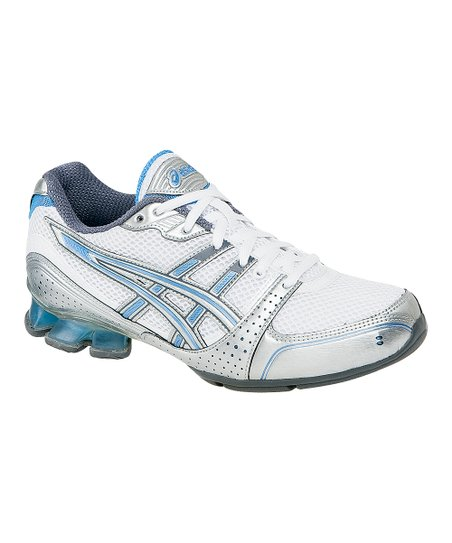 White & Silver GEL-Enthrall Cross-Training Shoe