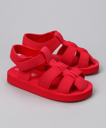 Red Fisherman Sandal