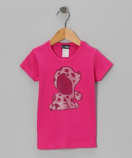 Fuchsia Puppy Short-Sleeve Tee – Toddler & Girls