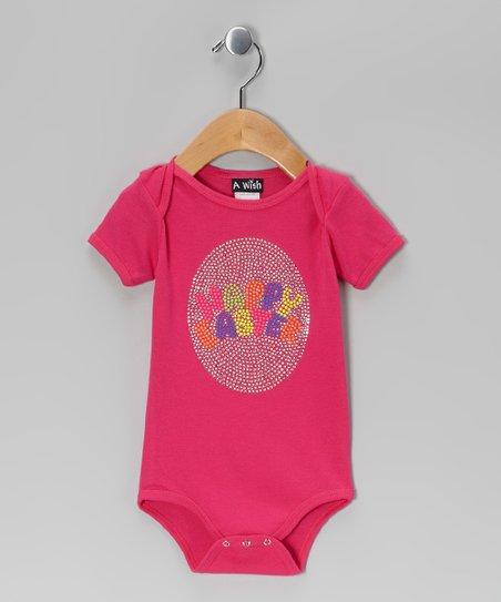 Hot Pink 'Happy Easter' Bodysuit – Infant